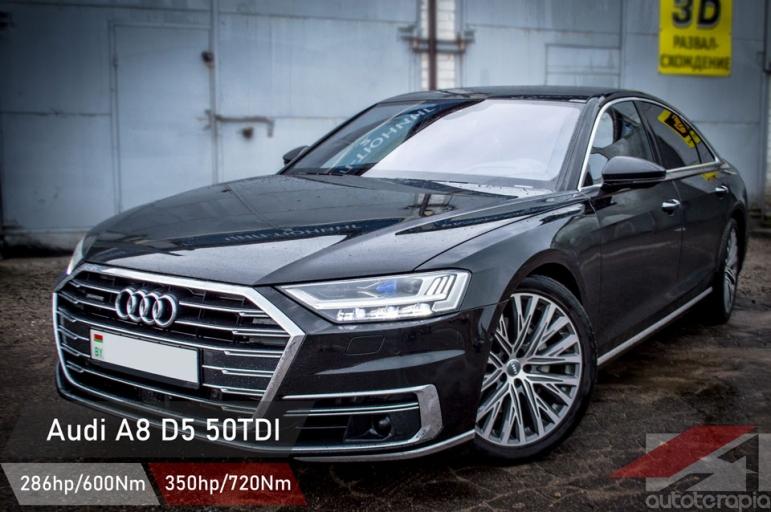 Audi A8 D5 чип тюнинг