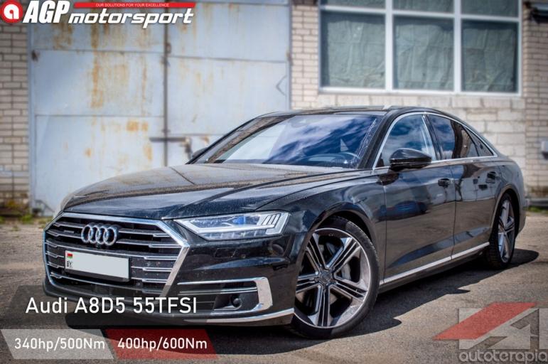 Audi A8 D5 55tfsi чип тюнинг