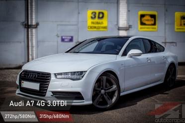 Audi A7 3.0 TDI чип тюнинг