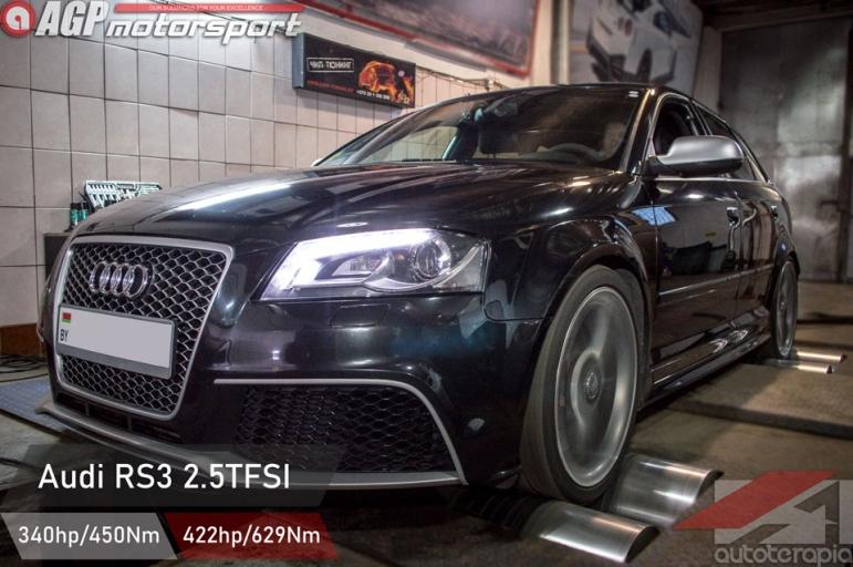 Audi RS3 2.5 tfsi чип тюнинг