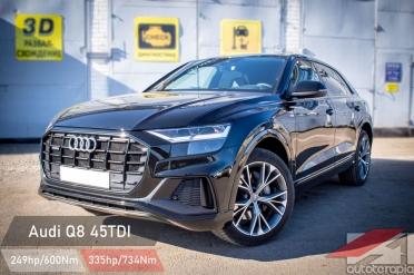Audi Q8 45 tdi чип тюнинг