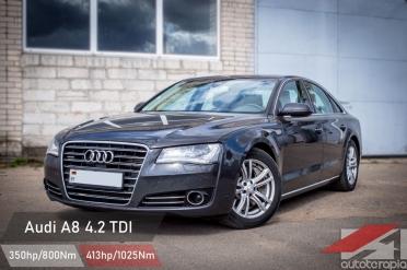 Audi a8 4.2 tdi чип тюнинг