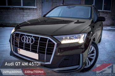 Audi Q7 45 TDI чип тюнинг