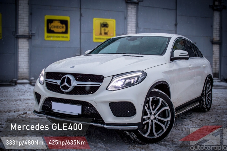 Mercedes GLE тюнинг