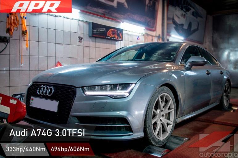 Audi A7 чип тюнинг
