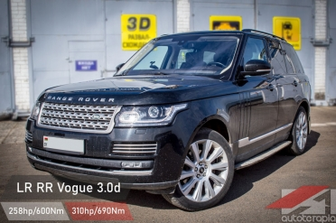 land rover vogue 3.0d чип тюнинг